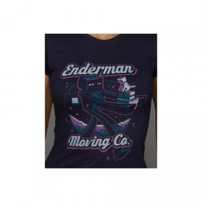 T-Shirt Blizzard - Enderman Moving - Minecraft - M