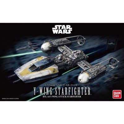 Maquette - Y-Wing Star Fighter - Star Wars - 22cm
