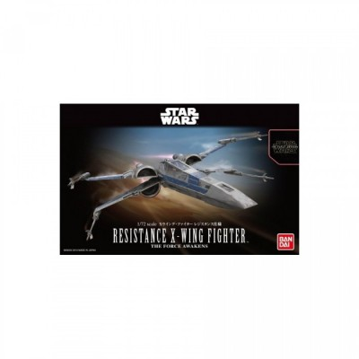 Maquette - Resistance X Wing Fighter - Star Wars - 1/72