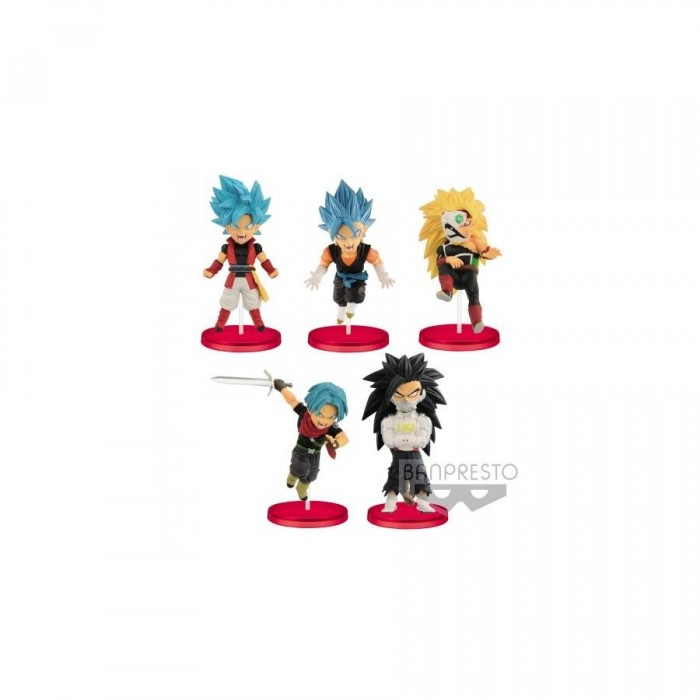 Dragon Ball Super Heros WCF - Vol.4 - 7 cm (vendu par 8)