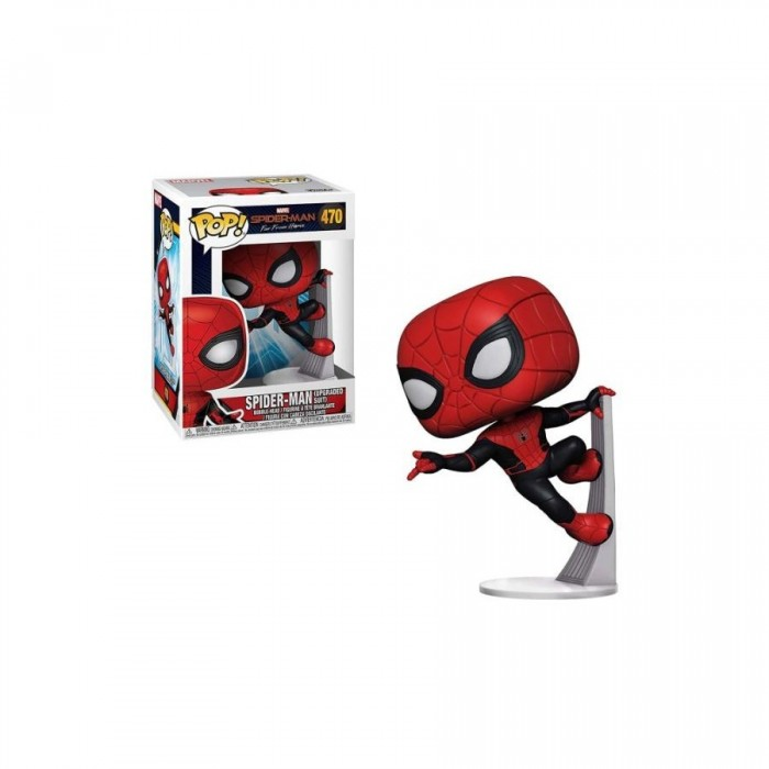 Spider-Man (Upgraded Suit) - Spider-Man: Far From Home (470) - POP Marvel