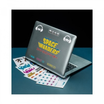 Set Stickers - Space Invaders