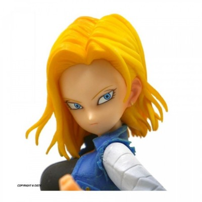 "Androïd 18 - C18 - ""The Androïd Battle"" Dragon Ball Super / Fighter Z - 20 cm"