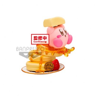 Kirby with Pancake - Kirby - Paldolce Collection - 6cm