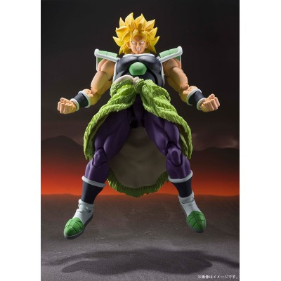 S.H. Figuarts - Broly - Dragon Ball Super - 19cm