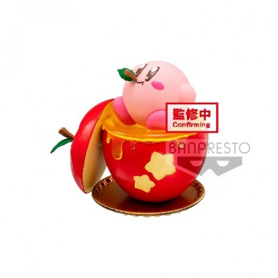 Kirby with Apple - Kirby - Paldolce Collection - 6cm