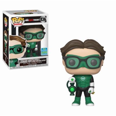 Leonard / Green Lantern Costume - The Big Bang Theory (836) - Pop Television - Exclusive