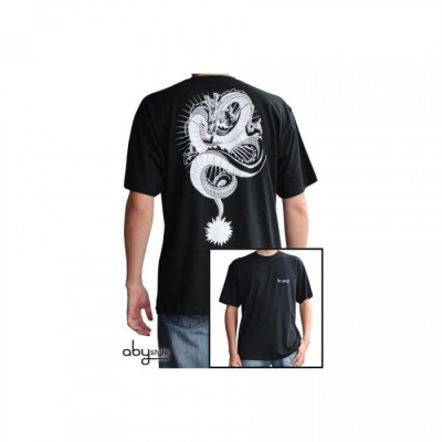 T-shirt Dragon Ball Z Shenron (Noir et Blanc) - S