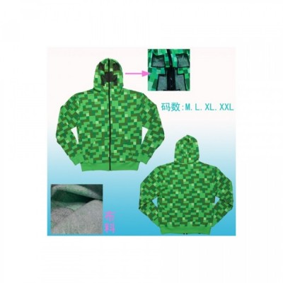 Sweat - Creeper - Minecraft - Fond Vert