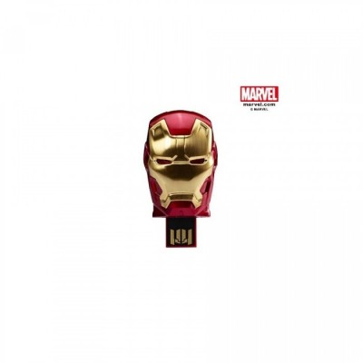 Clef USB - Iron Man - Tête Rouge - 8GB