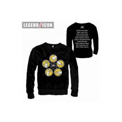 Sweat - Big Bang Theory - Pierre, feuille,... - L