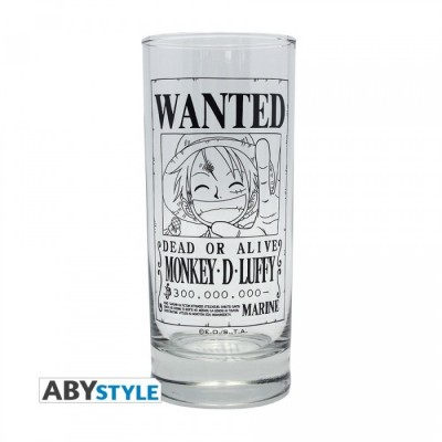 Verre - One Piece - Luffy Wanted