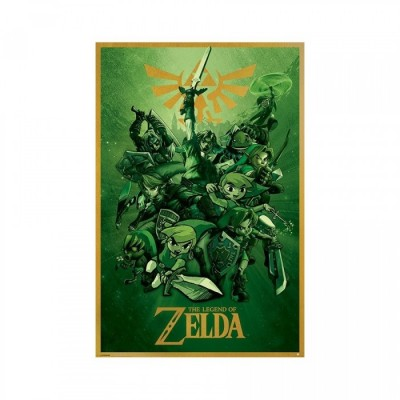 Poster - The Legend of Zelda - Link - 61 X 91 cm