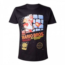 T-shirt Bioworld - Mario Bros - Jaquette - L