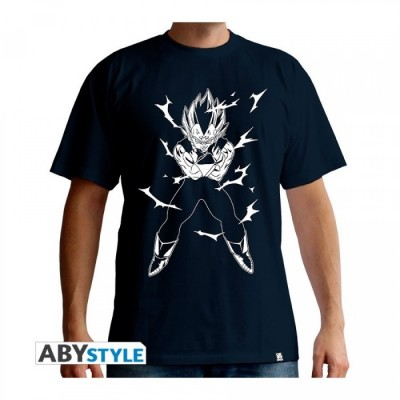 T-shirt Dragon Ball - Vegeta - Navy - S