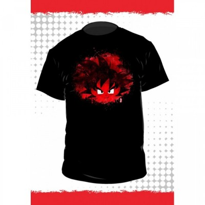 T-shirt Dragon Ball - Goku - Fond Noir - S
