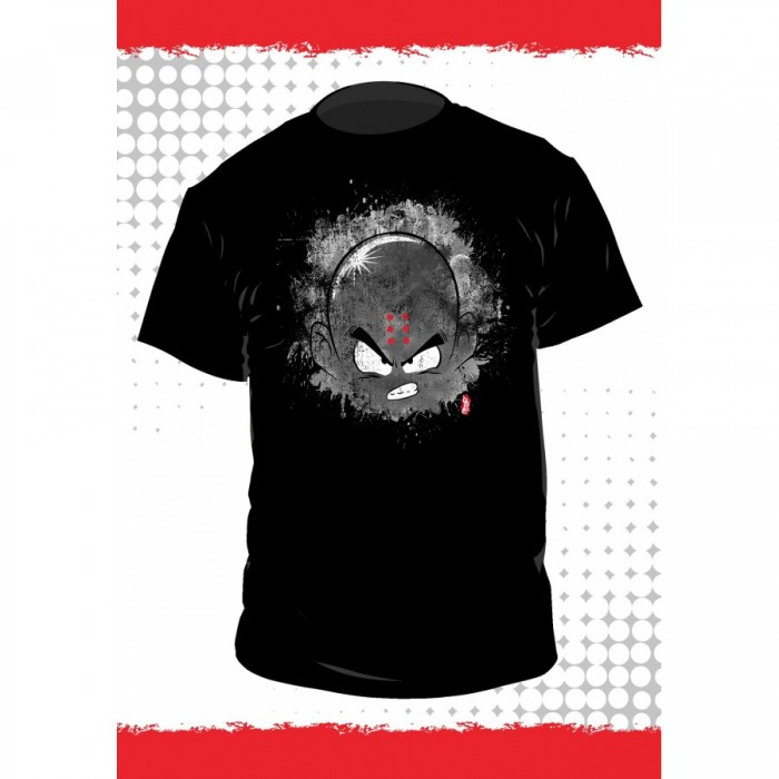 T-shirt Dragon Ball - Krilin - Fond Noir - L