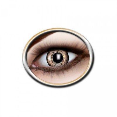 "Lentilles - Yellow, Black - Tone Lenses ""One Tone"""