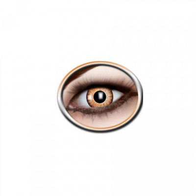 "Lentilles - Orange, Black - Tone Lenses ""One Tone"""