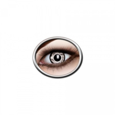 "Lentilles - White, Black - Tone Lenses ""Two Tone"""