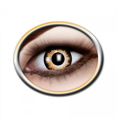 "Lentilles - Black, Orange - Tone Lenses ""Two Tone"""