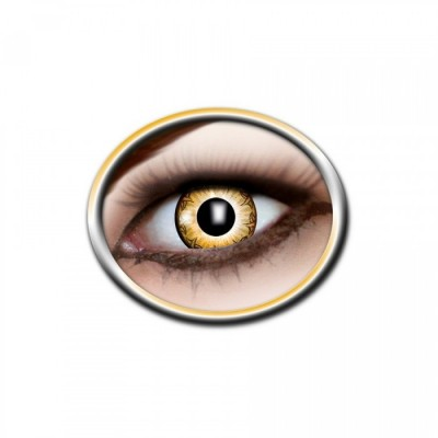 "Lentilles - Black (motif), Orange - Tone Lenses ""Two Tone"""