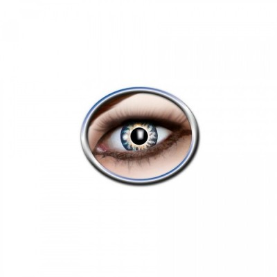 "Lentilles - Blue, Yellow - Tone Lenses ""Two Tone"""