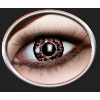 "Lentilles - Black, Orange - Tone Lenses ""Three Tone"""