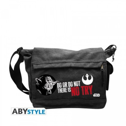 "Sac à bandoulière - Yoda ""No Try"" - Star Wars (35x25x10cm)"