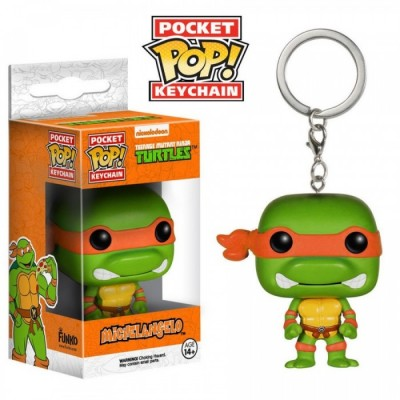 Michelangelo - Tortues Ninja -  POP Keychain