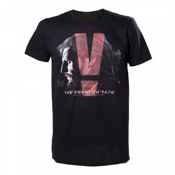 T-shirt Bioworld - Metal Gear Solid - Black Phantom Pain - L