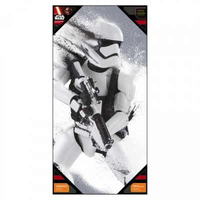 Poster avec Cadre - Stormtroopers Hiver - Star Wars - 50x25cm