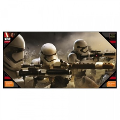 Poster avec Cadre - Stormtroopers Battle - Star Wars - 50x25cm