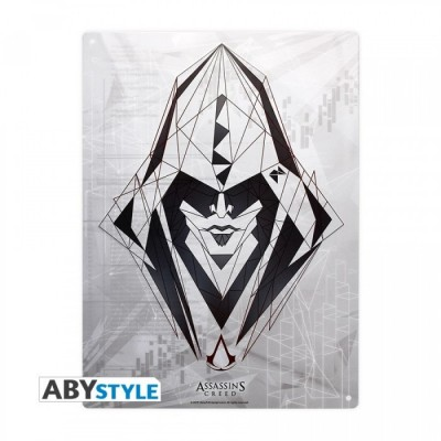 Plaque Métalique - Assassin's Creed - Assassin (28x38)