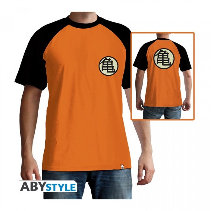 T-shirt Dragon Ball - Kame Symbol - L