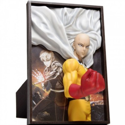 Cadre 3D - One Punch Man