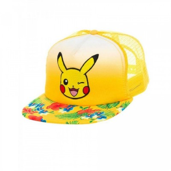Casquette - Pikachu & Fleurs - Pokemon