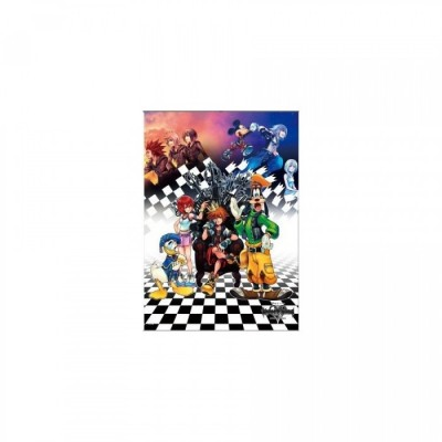 Kingdom Hearts 1.5 HD Remix - Wall Scroll Art