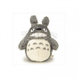 Peluches Ghibli - Grand Totoro (Gris foncé) Sourire - 2015 (40 CM)