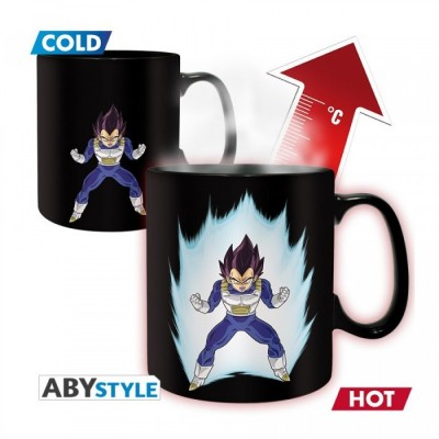 Mug - Dragon Ball - Thermo Réactif - Vegeta