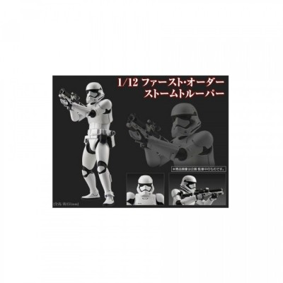 Maquette - First Order Stormtrooper - Star Wars - 1/12