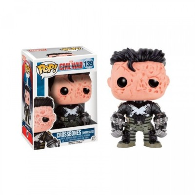 Crossbones Unmasked - Special - Captain America Civil War (139) - Pop Movies