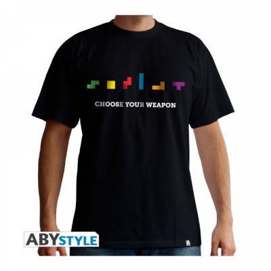 T-shirt Tetris - Choose your weapon - S
