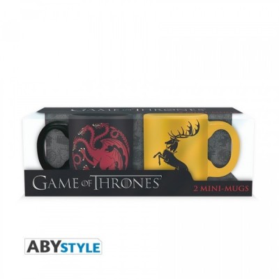 Set Mini mugs - Targaryen & Baratheon - Game Of Thrones - 110ml