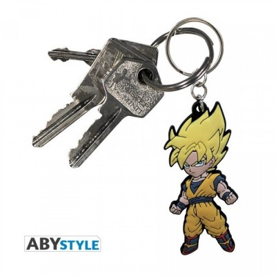 Porte-Clef PVC - Son Goku SSJ - PVC - Dragon Ball