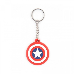 Porte-clef Rubber - Marvel - Captain America - Bouclier