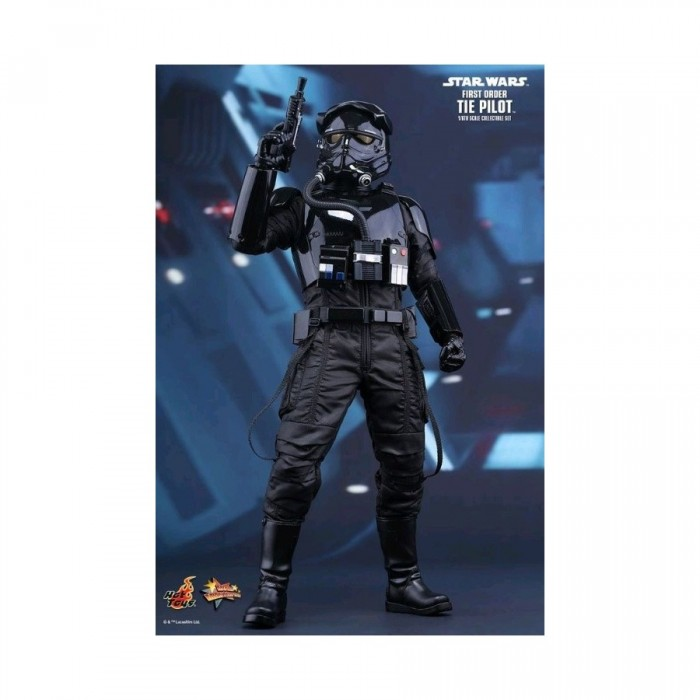 Star Wars The Force Awakens - First Order TIE Pilot 1:6 scale figure - Hot Toys