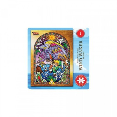 Link Vitrail - Puzzle Collector - The legend of Zelda Wind Waker