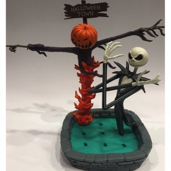 Jack & Epouvantail - Nightmare Before Christmas - Figurine - 17cm