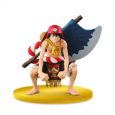 Sculpture Big - One Piece - Collection Film Gold - Luffy